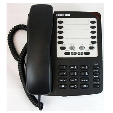 Cortelco 220500-VBA-27S Colleague 2-Line Corded Telephone
