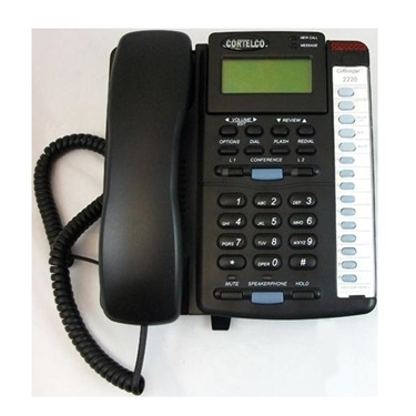 Cortelco 222000-TP2-27E Colleague 2-Line EN Corded Telephone