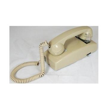 Cortelco 255444-VBA-NDL No Dial Wall Phone