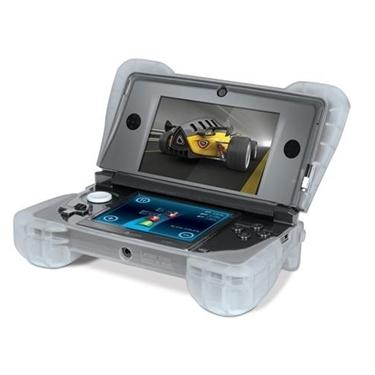 DreamGear DG-DG3DS-4218 3DS Comfort Grip-Clear for Nintendo