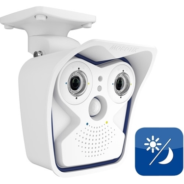 MOBOTIX M15 Modular Camera With 43mm Day And 43mm Night Sensor Modules