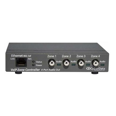 Cyberdata CD-011171 VoIP 4-Port Zone Controller
