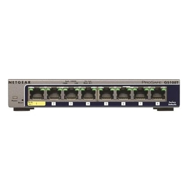 NetGear NET-GS108T-200NAS 8 Port Gigabit Smart Switch