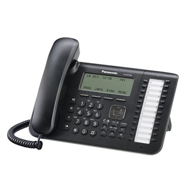 Panasonic 6-Line Backlit LCD 24 Button IP Phone