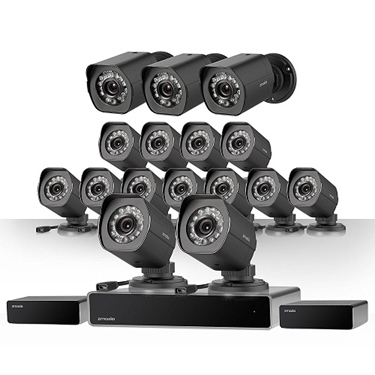 Zmodo 32 Channel Network NVR System 16 IP HD Surveillance Camera System With SPoE Repeater
