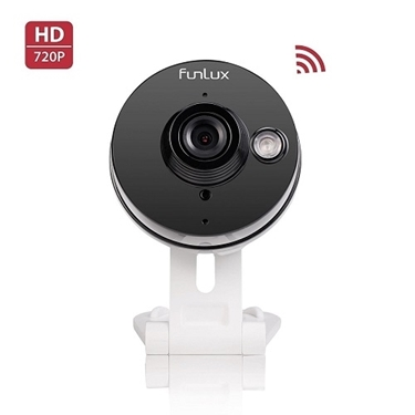 Funlux 720p HD Wi-Fi Wireless Network IP Camera with Audio