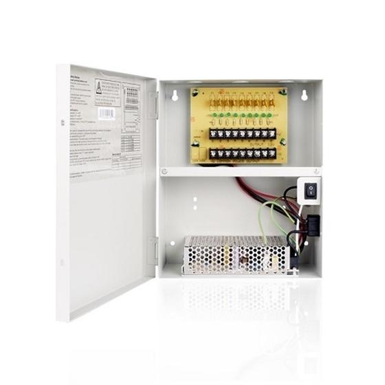 Zmodo 9 Port 12V 5A DC Power Supply for Surveillance Cameras