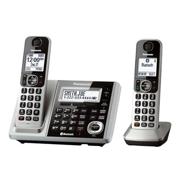 Panasonic 2-Handsets Link2Cell Bluetooth Cordless Phone