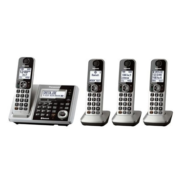 Panasonic 4 Handsets Link2Cell Bluetooth Cordless Phone