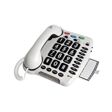 Geemarc GM-AmpliCL100 Amplified Big Button Telephone