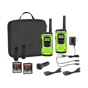 Motorola MOT-T605 35 Mile FRS with Case Waterproof Radios Twin Pack