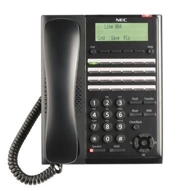 NEC BE117452 SL2100 Digital 24-Button Telephone(Black)