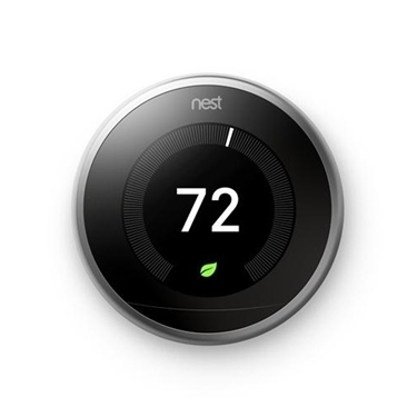 Nest T3008US Learning Thermostat 3rd Generation WiFi Bluetooth Smart Thermostat