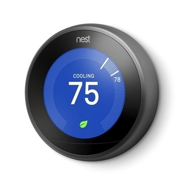 Nest Learning 3rd Generation Thermostat Black