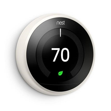 Nest T3017US Learning 3rd Generation Thermostat White