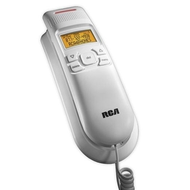 RCA 1122-1WTGA Amplified Slim-line Corded Phone