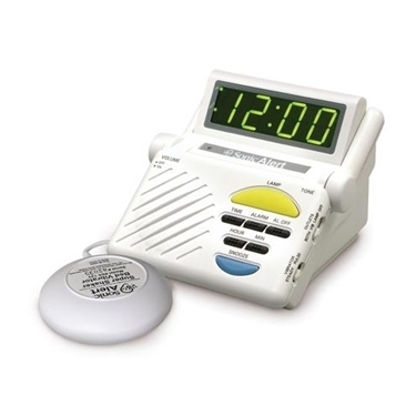 Sonic Boom SA-SB1000SS Alarm Clock with VIB