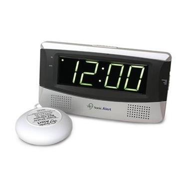 Sonic Boom SB300SS Alarm Clock - WHITE