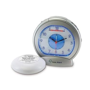 Sonic Boom SBA475SS Analog Alarm Clock
