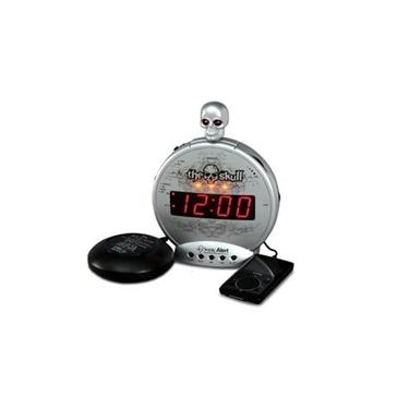 Sonic Bomb SBS550BC The Skull mp3-iPod Alarm with Shaker