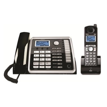 RCA 25255RE2 DECT 6.0 2-Line Corded/Cordless Telephone