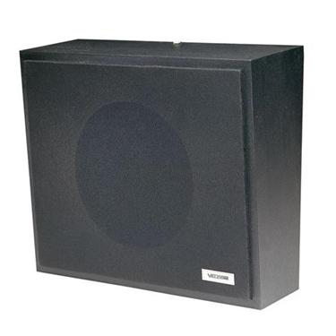 Valcom VC-V-1016-BK 1Watt 1Way Wall Speaker - Black
