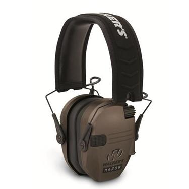 Walker WGE-GWP-RSEM-FDE Razor Series Slim Shooter Folding Ear Muff