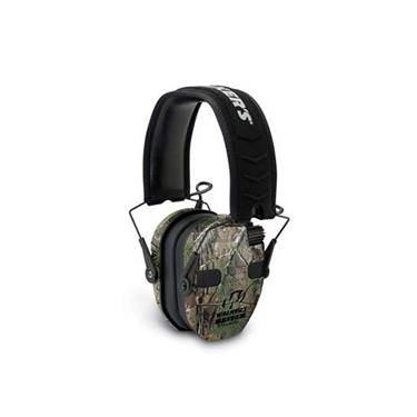 Walker's WGE-GWP-RSEQM-CMO Razor Slim Electronic Quad Camo Ear Muff