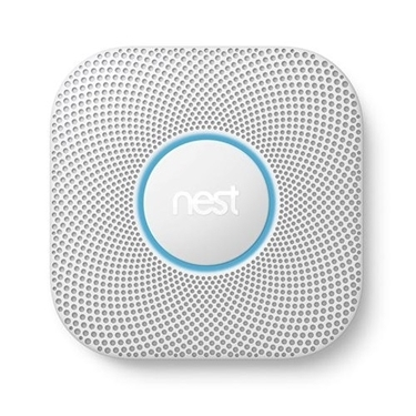 Nest Protect Smoke and Carbon Monoxide Alarm battery white
