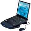 Aidata NS002B Laptop Dock Stand with Gel or Memory Foam Wrist Rest