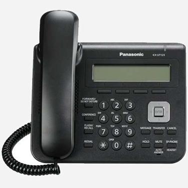 Used Panasonic KX-UT123-B Basic 2 Port SIP Phone