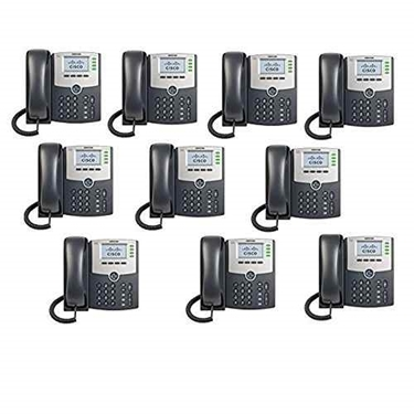 USED-Good- Cisco SPA504G 4-Line IP Phone (10 Pack)