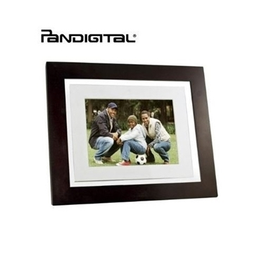 "Pandigital 8"" Touchscreen LED-Backlit Digital Photo Frame"