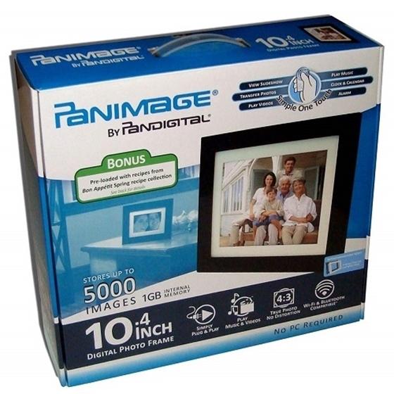 Panimage Pi1051dwcb 104 Inch Digital Picture Frame Espresso Nexhi