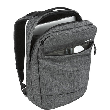 Incase City Backpack Heather Black/Gunmetal Gray