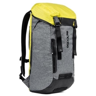 Incase Halo Collection Courier Backpack Heather Gray / Black / Yellow