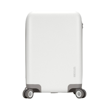 Novi 4 Wheel Hubless Travel Roller 22- White