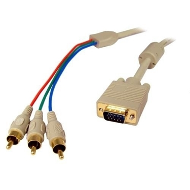 Cables Unlimited PCM-2330-06 6-Feet VGA To Component Video Cables