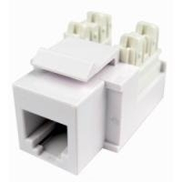 Cables Unlimited  UTP - 3603 Keystone Jack Cat3 RJ12 Ivory