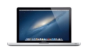 Picture of Apple MacBook Pro 15in Laptop Intel QuadCore i7 2.6GHz@3720QM (MD104LL/A), 8GB Memory, 750GB HDD OS 10.9.5