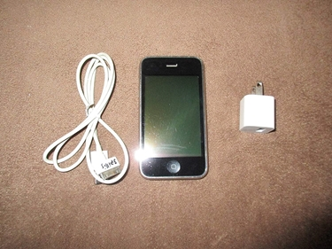 Picture of Apple Iphone 3gs - 8gb - Black (At&t) Smartphone (Mc640ll/a) w/ Case / Charger