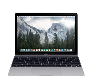 Picture of Apple MacBook MJY32LL/A 12-Inch Laptop with Retina Display, Space Gray, 256 GB , 8GB RAM CORE M OS 10.14