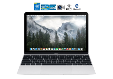 Picture of Apple MacBook MF865LL/A 12-Inch Laptop Core M 1.2Ghz 256GB Hdd 8GB RAM OS 10.10.5 very good