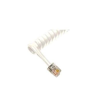 Picture of 1200WH GCHA444012-FWH / 12' WHITE Handset Cord