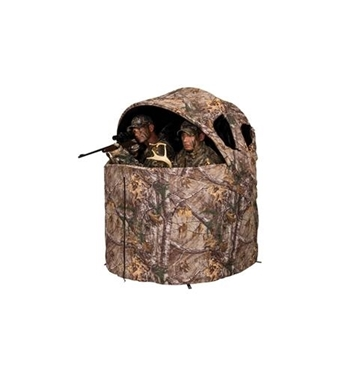 Picture of AM-AMEBL2001 Deluxe Tent Chair Blind in Realtree Edge