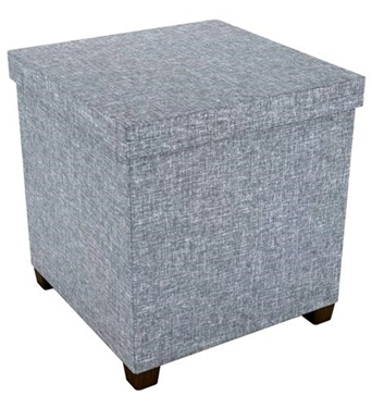 Picture of ATL-67336042 Storage Ottoman 17 x 17 LIGHT GRAY