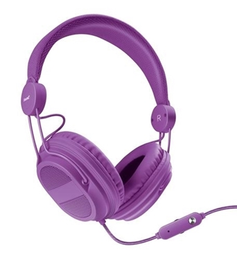Picture of DG-DGHP-5540 HM-310 Kid Friendly Headphones Purple