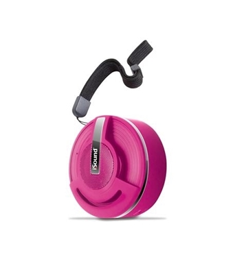 Picture of DG-iSound-5299 Hang On Bluetooth Speaker - Rubber Pink