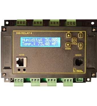 Picture of DIN-4 Din Relay 4