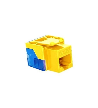 Picture of ICC-CAT5JACK-YL IC1078E5YL - Cat5 Jck YELLOW